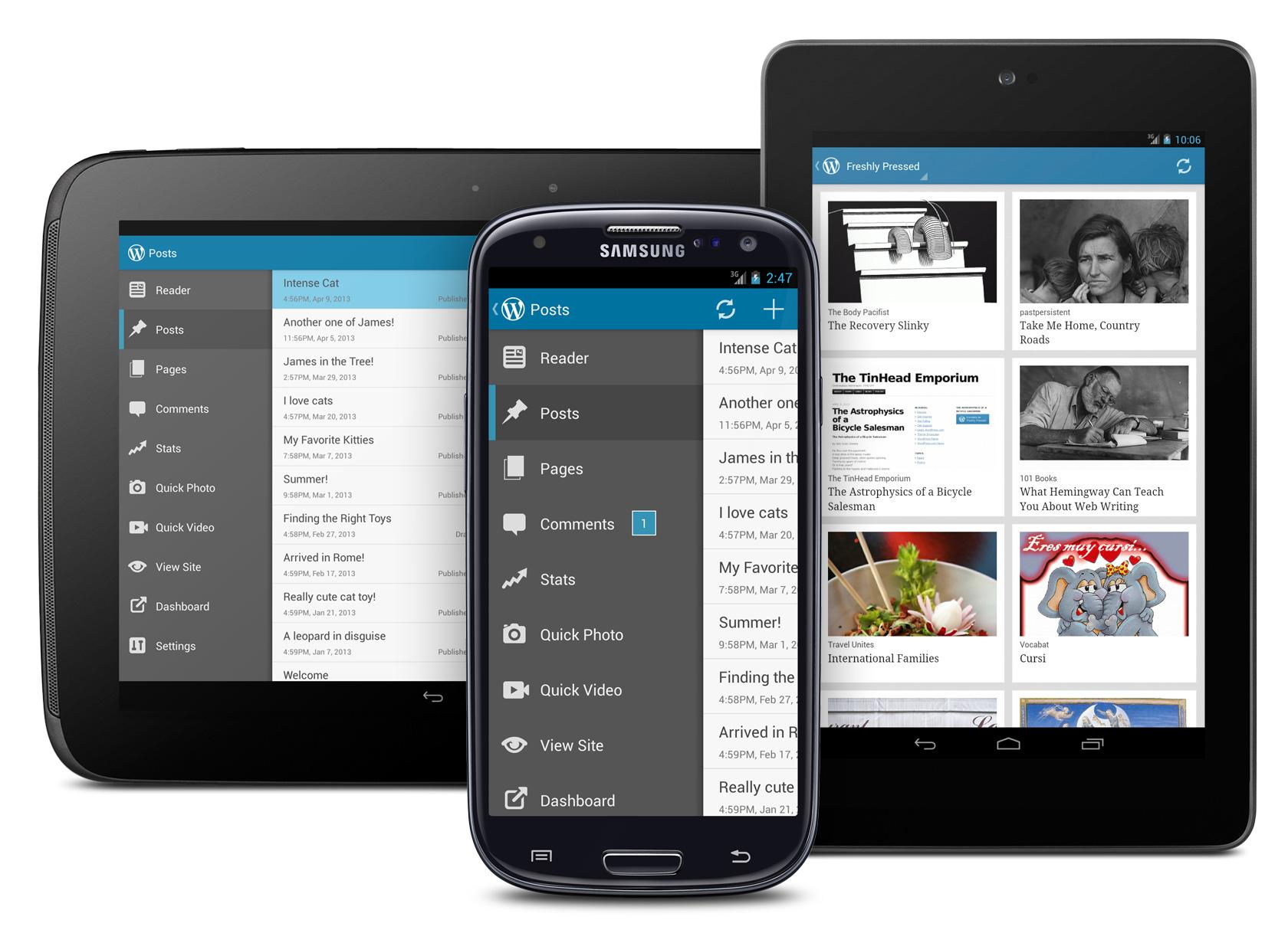 Android mobil eller tablet reparationer udføres